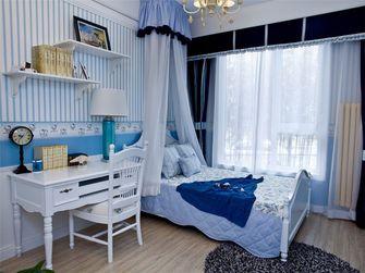 110平米三室两厅地中海风格儿童房装修图片大全