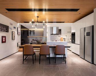140平米四室三厅现代简约风格餐厅设计图