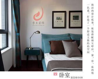 140平米三室三厅田园风格卧室设计图