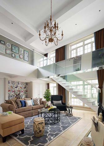 140平米四室三厅现代简约风格楼梯间效果图