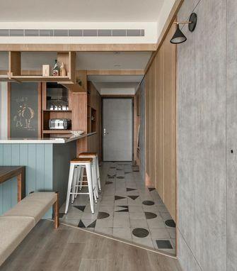 130平米三室两厅日式风格玄关图