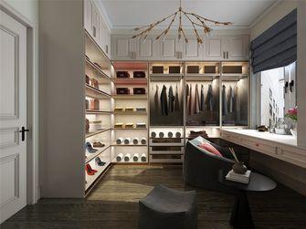 140平米三室三厅美式风格衣帽间图