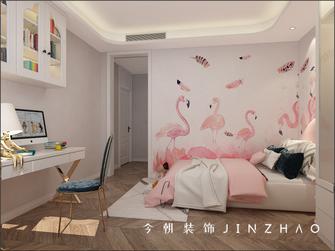 140平米四室两厅英伦风格儿童房装修效果图