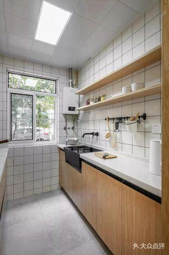 60平米三室一厅日式风格餐厅图