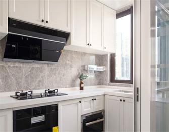 140平米四室一厅美式风格厨房设计图