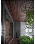 140平米三室两厅日式风格阳台装修图片大全