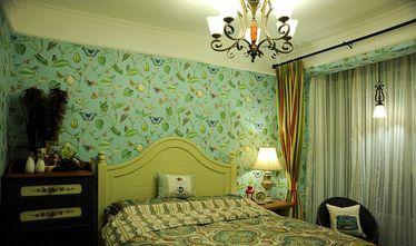 80平米田园风格卧室图片