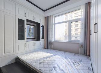 富裕型120平米三室两厅北欧风格卧室装修图片大全