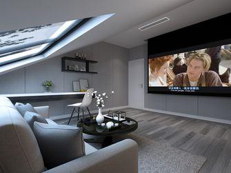 140平米复式北欧风格影音室效果图
