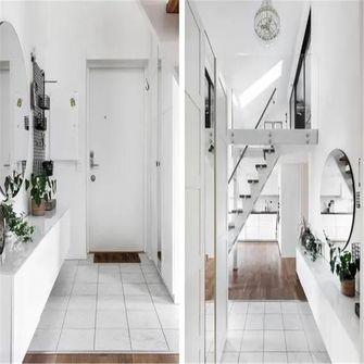 70平米别墅现代简约风格玄关设计图