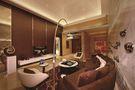 120平米三室一厅东南亚风格客厅图