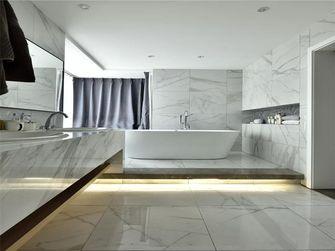 130平米三室一厅英伦风格卫生间装修效果图