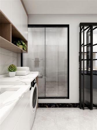 50平米三室两厅现代简约风格厨房图