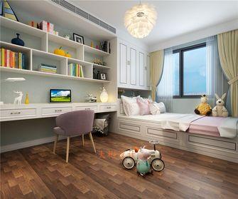 120平米三中式风格儿童房图片