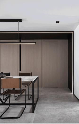 130平米现代简约风格餐厅设计图