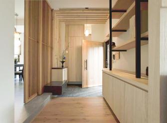 120平米四室两厅日式风格玄关图片大全