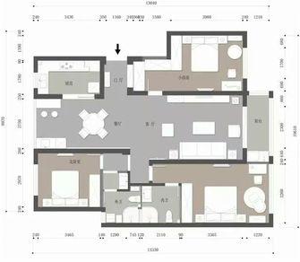 130平米三现代简约风格其他区域图