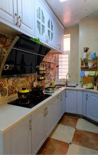 90平米三室两厅地中海风格厨房图片