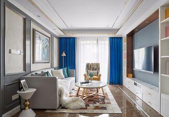 80平米公寓法式风格客厅欣赏图