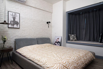 80平米现代简约风格卧室家具设计图