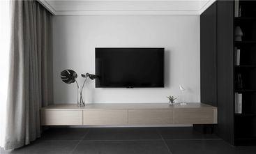 5-10万90平米三室一厅现代简约风格客厅图片大全