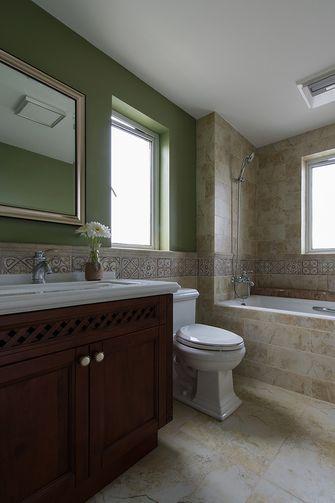 50平米小户型美式风格卫生间装修效果图