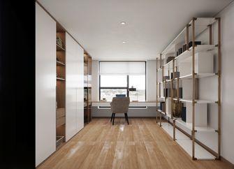 130平米三室两厅英伦风格衣帽间图片