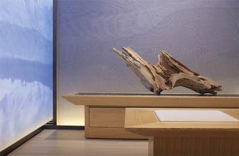 140平米一居室中式风格玄关设计图