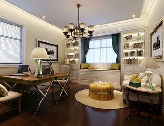 140平米复式美式风格书房装修效果图