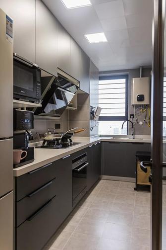 50平米小户型英伦风格厨房设计图