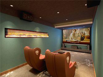 10-15万140平米三室两厅现代简约风格影音室装修图片大全
