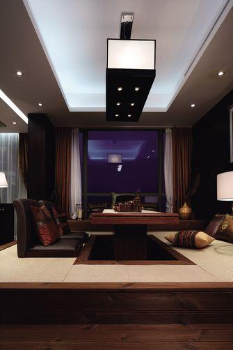 120平米三室两厅东南亚风格书房装修案例
