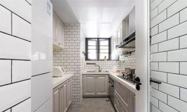 80平米三室一厅美式风格厨房图片
