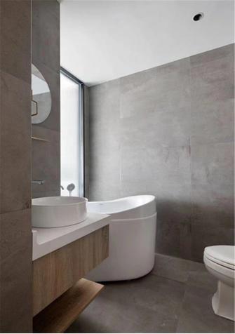 100平米公寓日式风格卫生间图