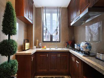 130平米三室一厅新古典风格厨房装修图片大全