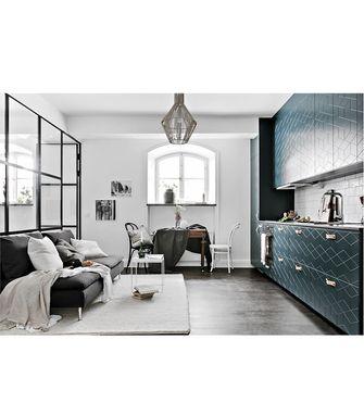 60平米公寓法式风格客厅装修图片大全