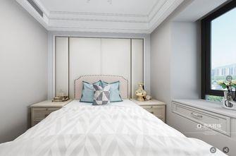 90平米三室两厅美式风格卧室图片大全