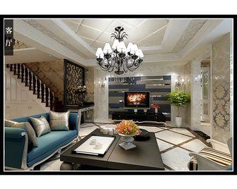 豪华型140平米别墅新古典风格客厅图片