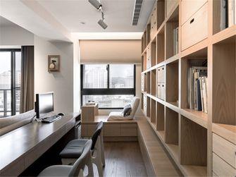130平米三室两厅日式风格书房图片