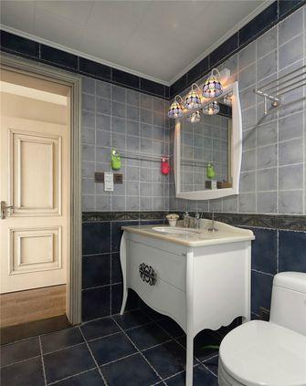 140平米三室三厅美式风格卫生间设计图