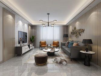 80平米三室两厅北欧风格客厅装修案例