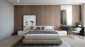 110平米三室兩廳現代簡約風格臥室圖