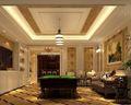 120平米三室两厅东南亚风格客厅图片