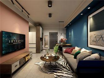 70平米一室一厅宜家风格客厅图片