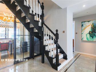 90平米三法式风格楼梯间效果图