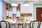 110平米北欧风格餐厅橱柜装修案例