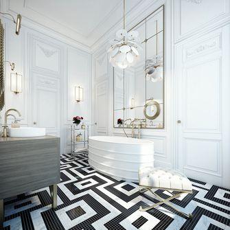 120平米四室两厅新古典风格阳台装修效果图
