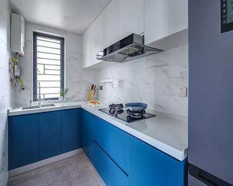 100平米三室一厅法式风格厨房设计图