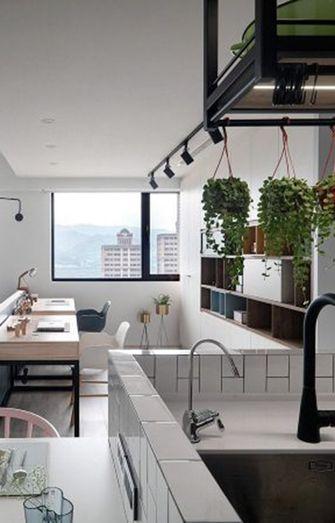 30平米小户型现代简约风格厨房橱柜装修案例