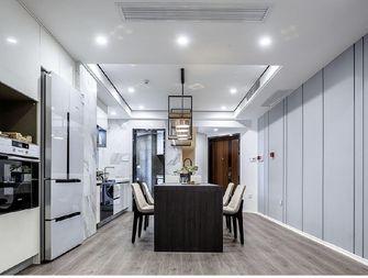 130平米三室三厅现代简约风格餐厅效果图
